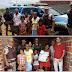 Ponto Novo: Em ato de caridade, Polícia Militar e Central de Videomonitoramento realizam entrega de cesta básica para família carente