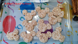 Mickey Mouse Rice Krispie Treats