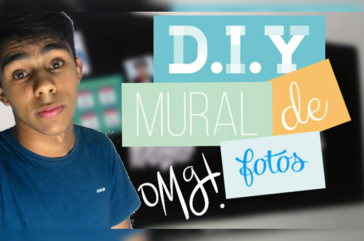 DIY - Mural de Fotos Fácil e Barato