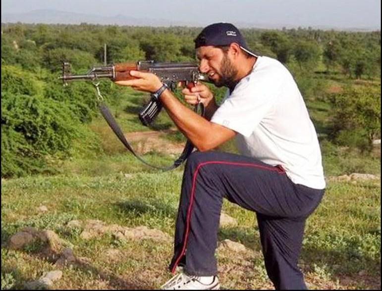 shahid afridi in his area