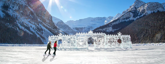 Lake Louise Banff National Park Ice Skating