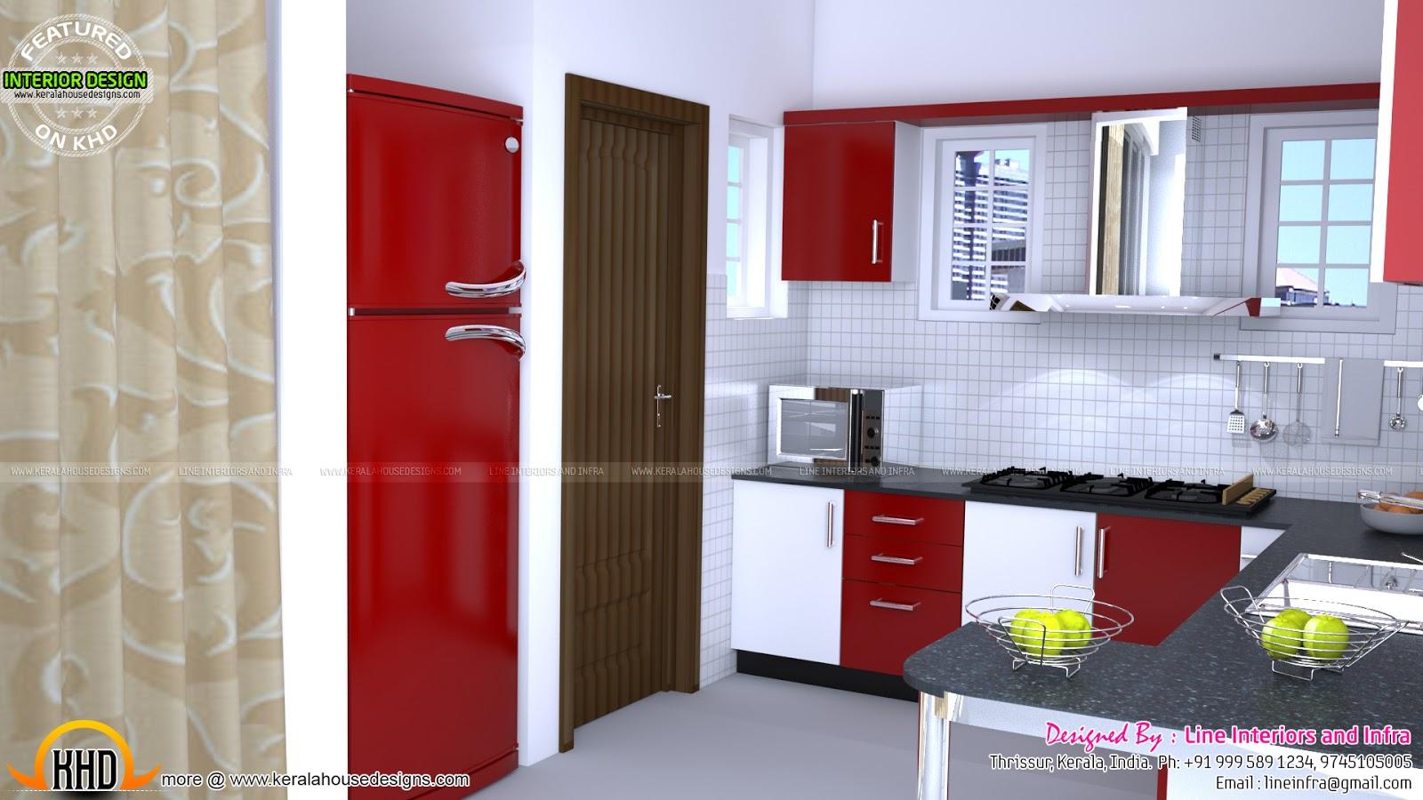 Modular Kitchen, Bedroom, Dining Interiors In Kerala