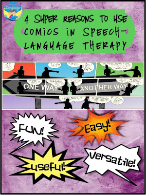 4 Super Reasons for SLPs to Use Comics- Looks-Like-Language