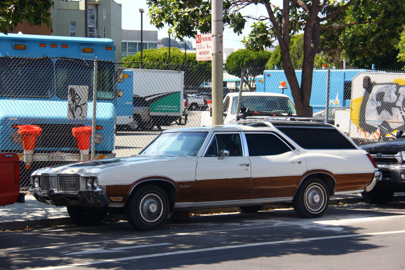 California Streets San Francisco Street Sighting 1972