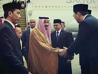 Ngarep Bersalaman dengan Raja Arab, Ahok Nempel Jokowi Terus - okezone .com