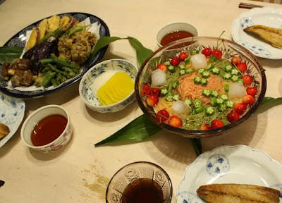 七夕の料理