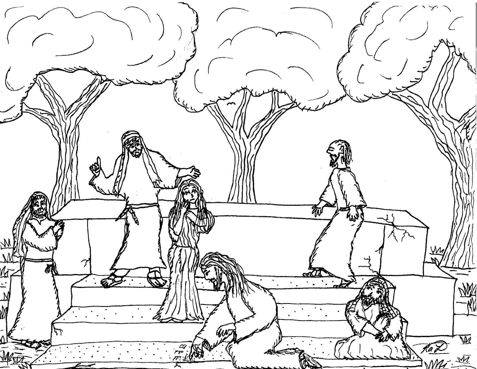 Robin\'s Great Coloring Pages: Jesus Teaches about Forgiveness
