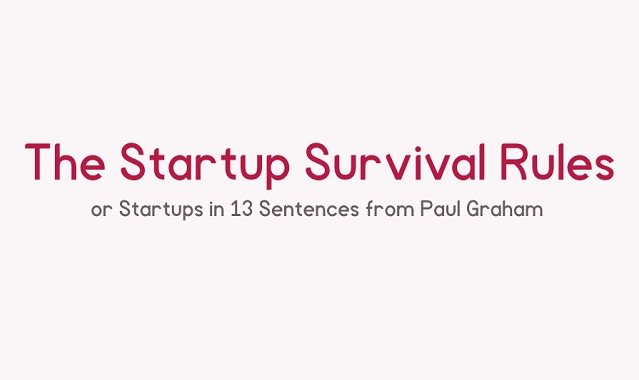 The Startup Survival Rules