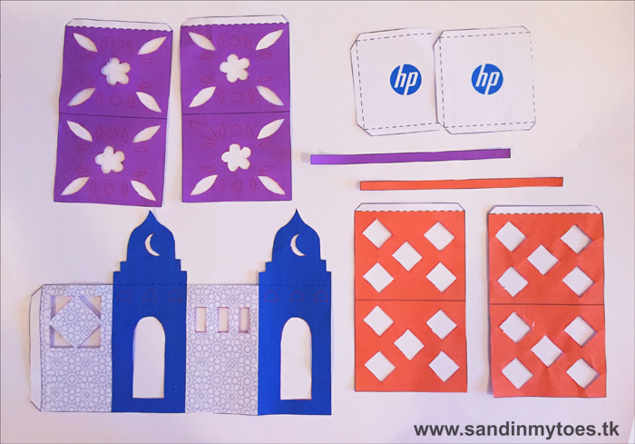 Making Paper Lanterns with HP (Printables)   Sand In My Toes