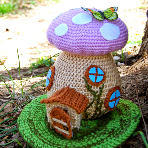 Spring Fairy House - Free Pattern