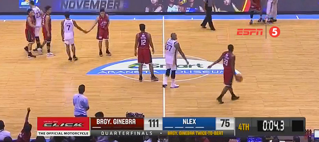 Ginebra eliminates NLEX, 111-75 (REPLAY VIDEO) Quarterfinals | November 6