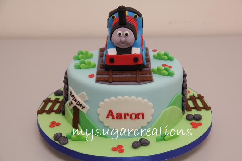 My Sugar Creations 001943746 M Thomas Amp Friends Cake