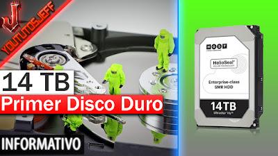 Disco duro, 14TB de almacenamiento, HGST, Ultrastar He 14
