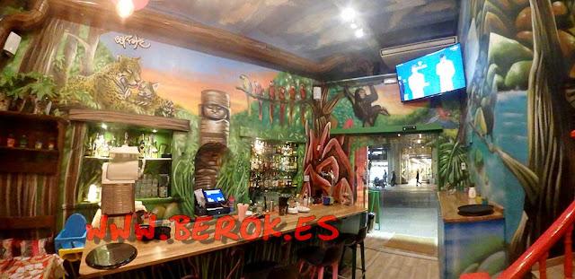 decoración restaurante mexicano