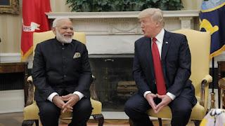 भारत, संयुक्त राज्य, नरेन्द्र मोदी, मानव रहित विमान, Washington, Donald Trump, Narendra Modi, India, america, Guardian drone,
