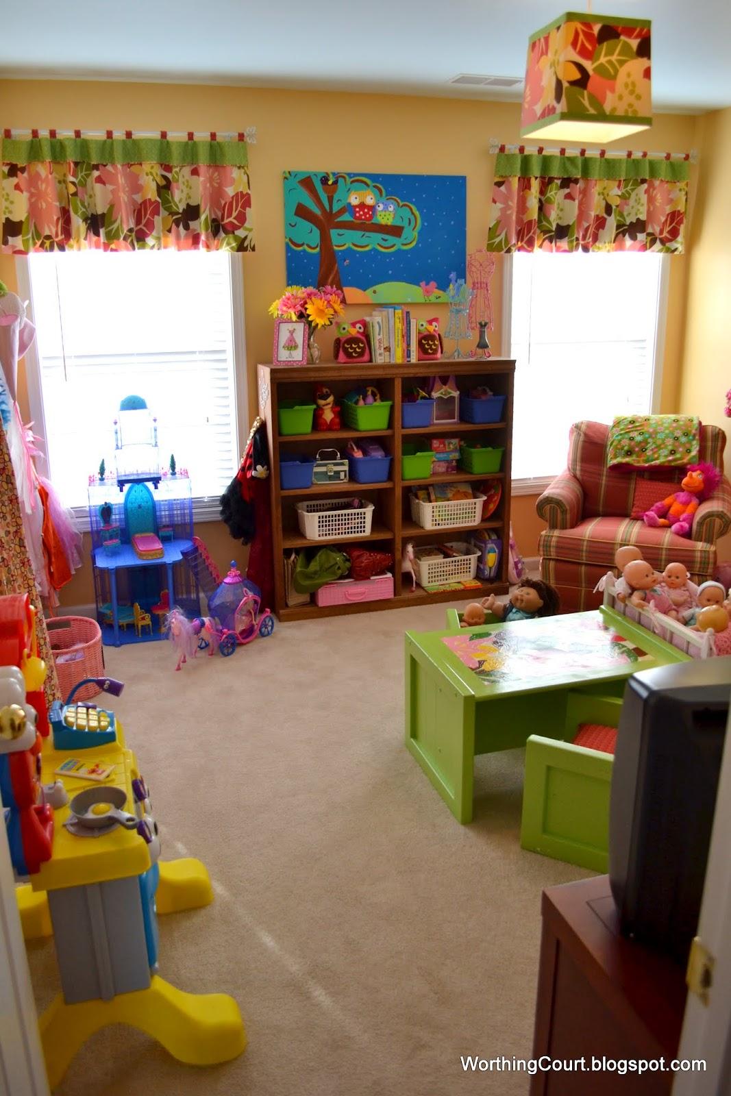 House Tour The Playroom