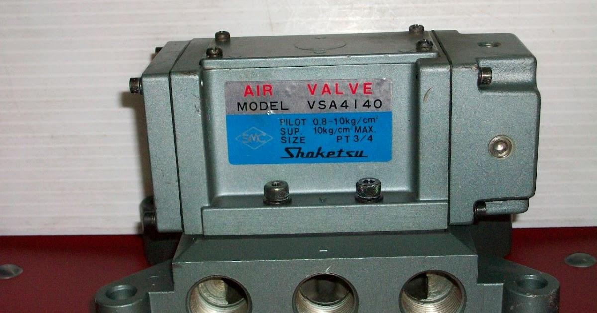 僑大機械五金行: SMC VSA4140 , SMC VA 1400 氣動閥