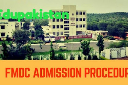 FMDC admissions procedure official