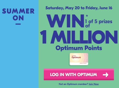 Shoppers Drug Mart Summer On Contest