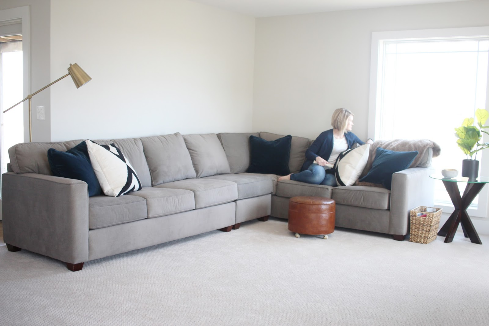 Slumberland Sofa Beds Uk Nothing But Neutral All About Our New Sectional