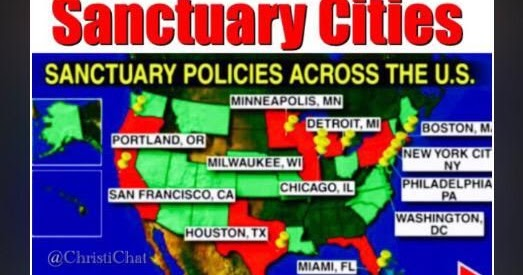 Political Pistachio: Sanctuary Cities Violate Supremacy Clause on regions of texas with cities, cartoon sanctuary cities, map of state of georgia cities, stop sanctuary cities, ohio map with cities, map of edith read sanctuary, tent city in sanctuary cities, california cities, map of memphis cities,