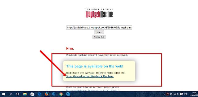 web archive