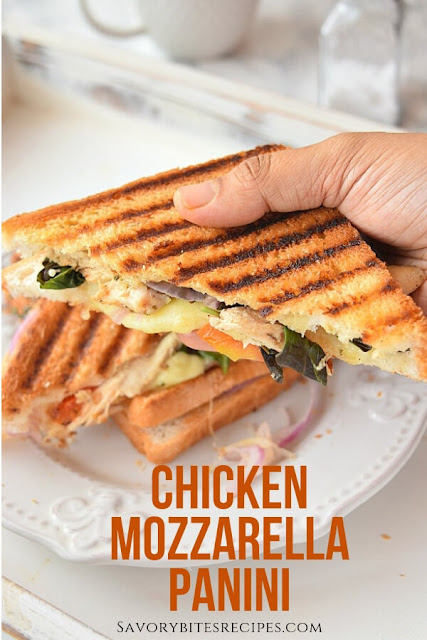 Chicken Mozzarella Panini Recipe