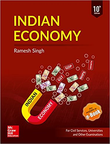 Indian Economy by Ramesh Singh 10th & Previous edition Download PDF