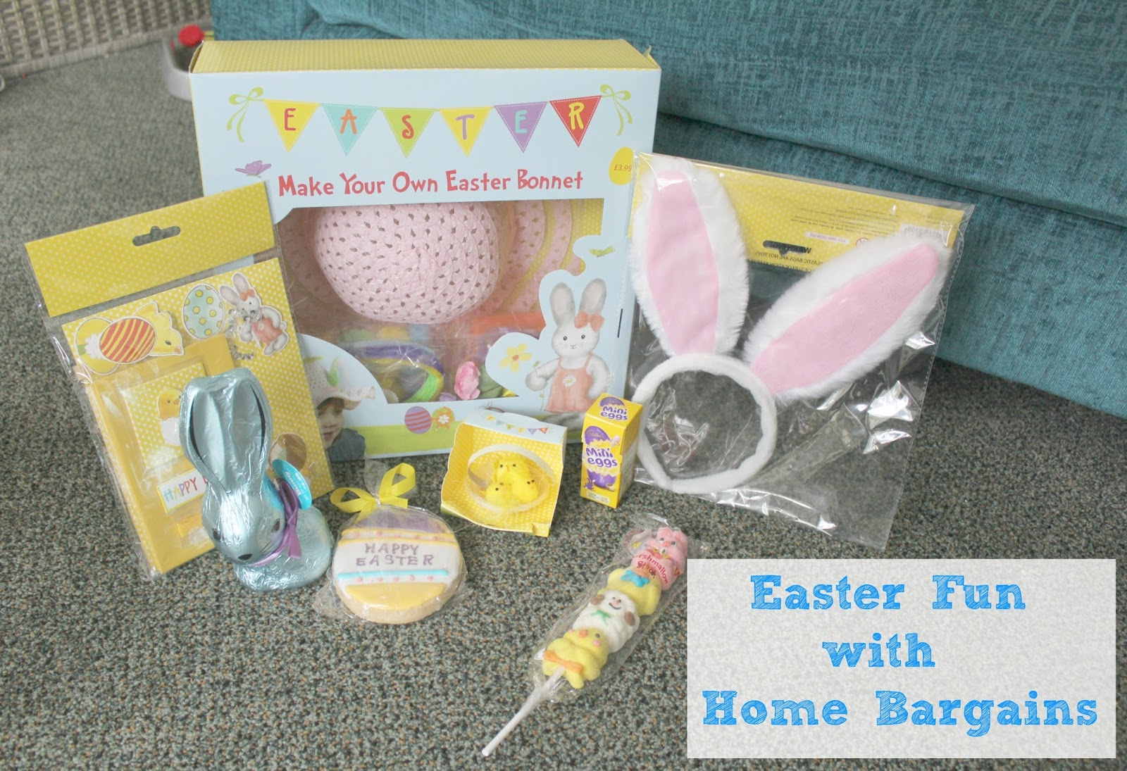 Home Bargains Easter Craft Sparkles And Stretchmarks Uk Mummy