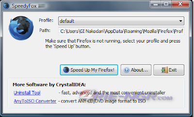 SpeedyFox 2.0.16 Build 100 Terbaru Gratis