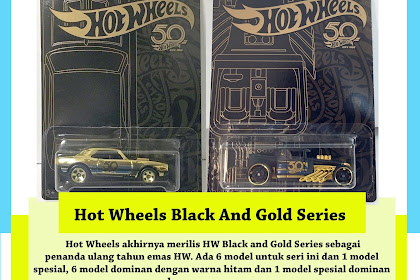 HW 50th Anniversary Black And Gold Series