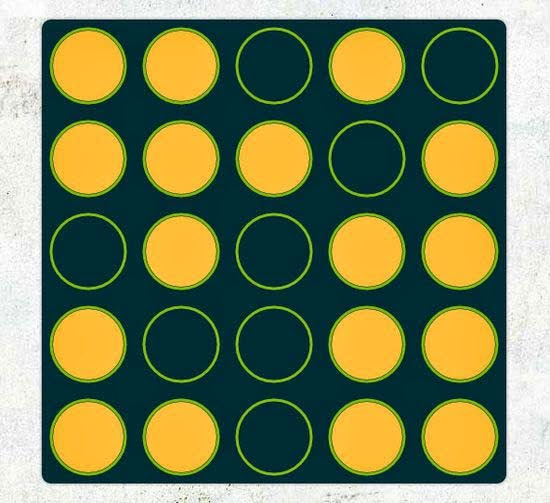 Lights Off - A puzzle game using HTML5 canvas