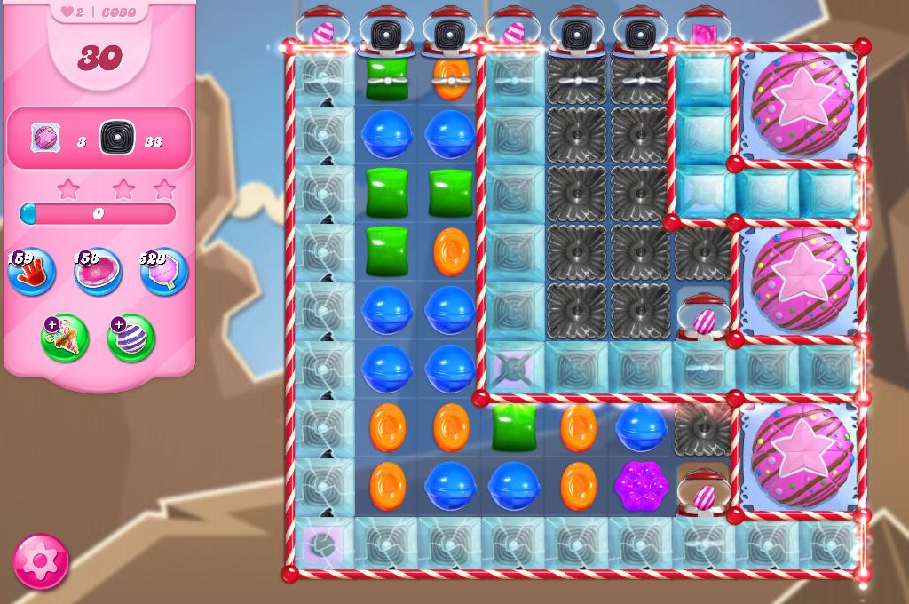 Candy Crush Saga level 6030