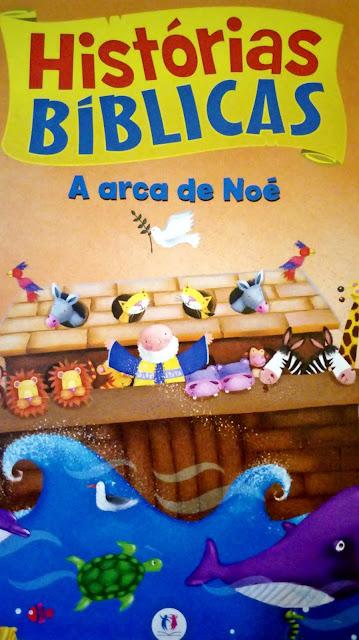 Achegue-se! Dicas para presentear - Histórias bíblicas - A arca de Noé