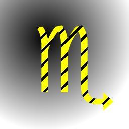 GIMP基礎功與範例教學: 16.2 斜線條的文字