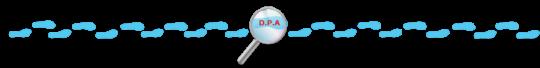 Decoração DPA - festa infantil - separador de texto