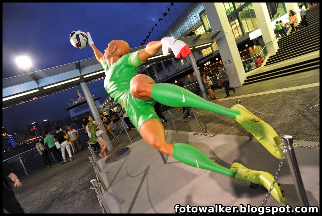 Foto Walker: Nike The Last Game@海港城 海運大廈