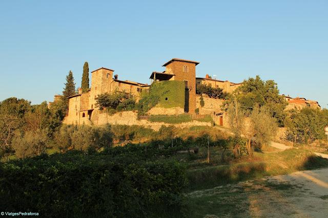 Montefioralle, Chianti, Toscana, Itàlia