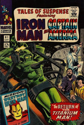 Tales of Suspense #81, The Titanium Man