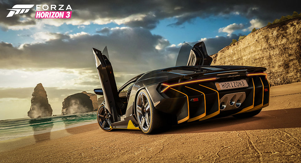 First 165 Cars Announced For Forza Horizon 3, Including Centenario And Regera
