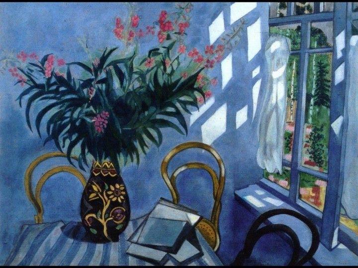 la tana del Truciolo Sedie thonet nei quadri di Chagall