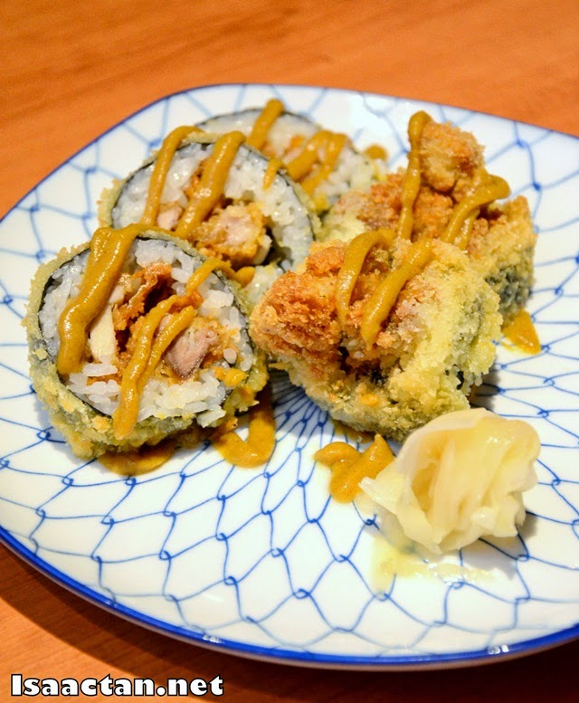 #6 Chicken Curry Cutlet Maki - RM30