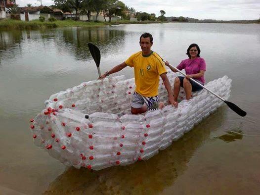 barco de plastico