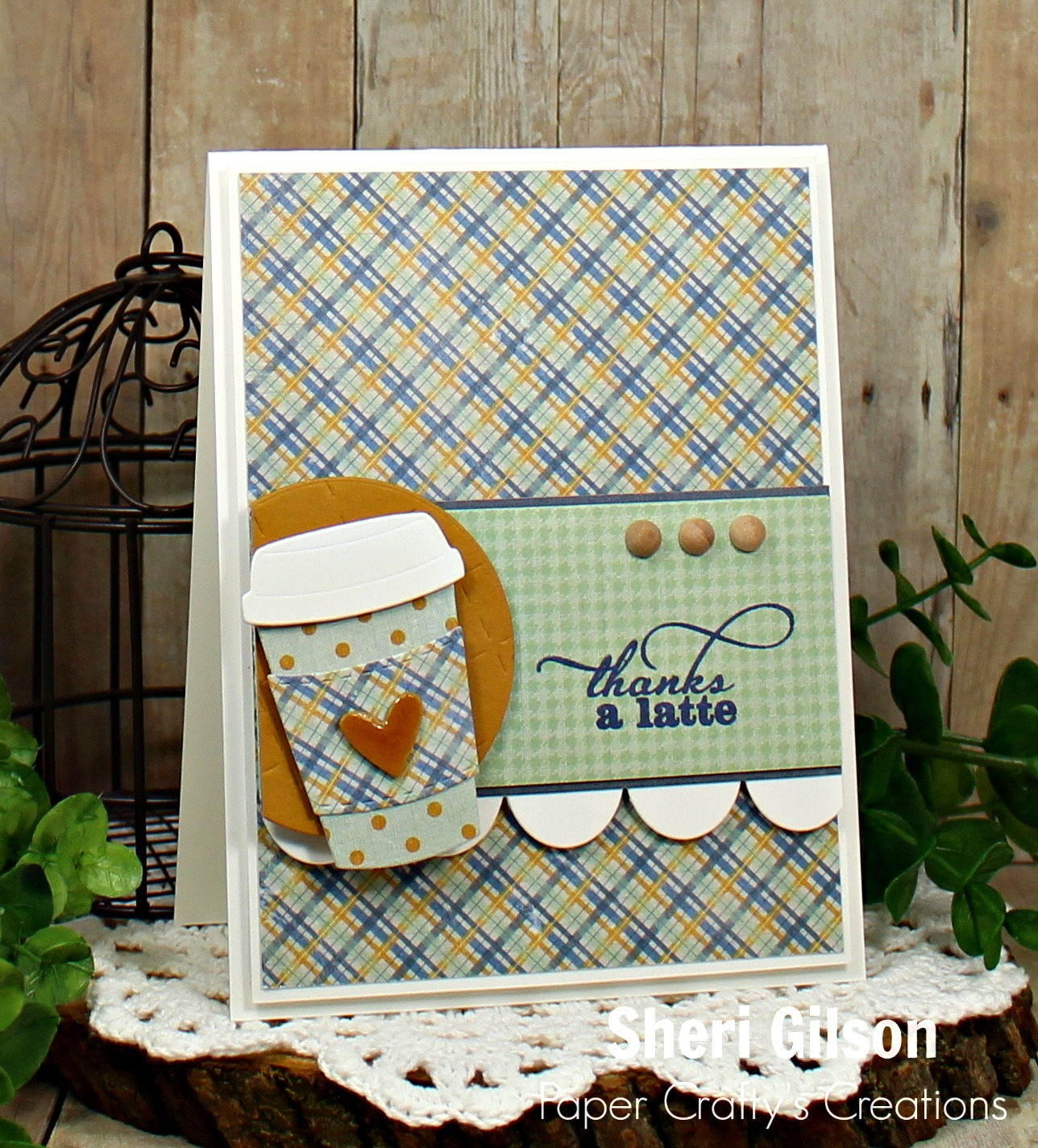 Paper Crafty's Creations : Fall Coffee Lovers Blog Hop