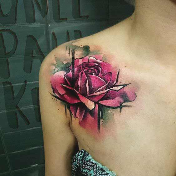 50 Stunning Collar Bone Tattoos For Women And Men Megapety