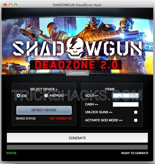Shadowgun Deadzone Hack Cheats Tool 2013