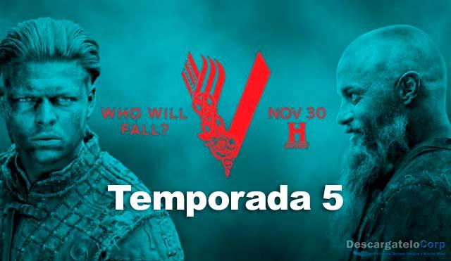 Vikingos Temporada 5 HD 720p Latino Dual