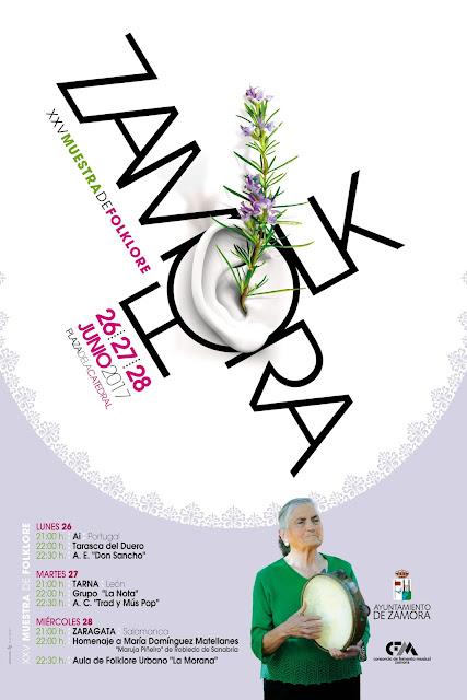 Zamora Folk 2017 - Cartel