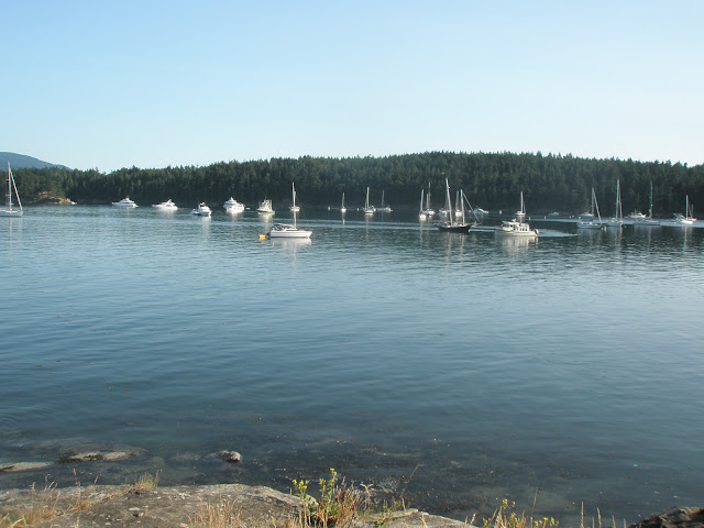 Echo Bay at Sucia Island State Park
