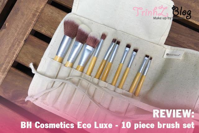 đánh giá bộ cọ BH cosmetic Eco luxe